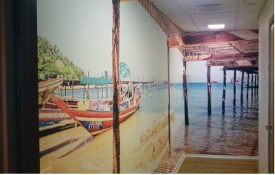 Bilde av gangen
